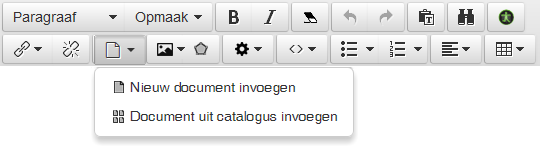 document-invoegen